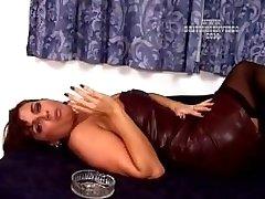 Teresa May Smoking 1