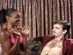 tiener Ebony Sinnamon Liefde en Michael J Cox