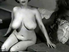 Big-chested Vintage Cougar