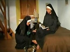 Couple of warm insatiable NUNS!