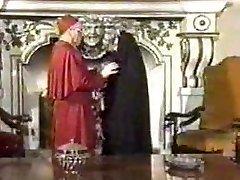 רטרו, אוראלי Creampie עם נזירה