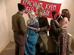 Russian vintage sex orgy part 1
