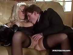 Silvia Saint Romps the Lawyer and Jerks His Cum