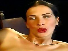 Anal... Fabulous Slim Italian Babe Wambammed On Stage... Vintage