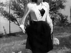 Something Freaky Vintage Panties And Stockings