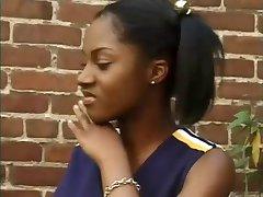 Cute Black Cheerleader