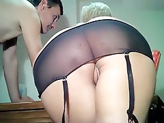 Depraved mature blond Danyana