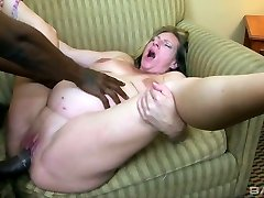 Sex-crazy knocked up tart Charlie Macc is fond of big dark-hued dick