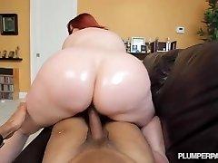 Big Butt Redhead Pawg MILF Marcy Diamond Shoots POV