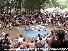 First-timer Bare Contest at This Years Nudes a Poppin Festival in Indiana