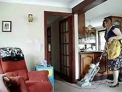 Super-fucking-hot MILF Deep-throats IT UP ALL OVER THE HOUSE