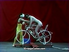 Super-sexy Doll is Riding a Sex-bike