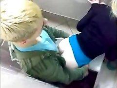 Russian nightclub toilet fuck compilation AT
