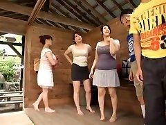 Hottest Chinese female Sumire Shiratori, Hitomi Yuki, Reina Nakama in Greatest Compilation, Outdoor JAV movie