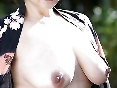 50s Japanese with Awesome All-natural Tits