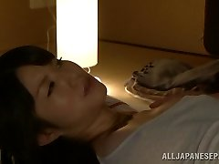 Red-hot Asian milf Chizuru Sakura fucks with her neighbor