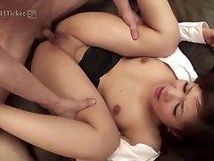 Shino Nakamura's Fuckholes Plumbed at Office (Uncensored JAV)