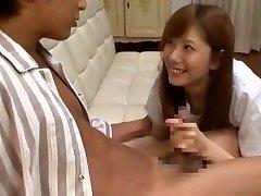 Απίστευτο Ιαπωνική γκόμενα Yuma Ασάμι σε Τρελό Χύσια, Μεγάλο Στήθος JAV ταινία