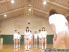 Super hot Japanese dolls flashing part3