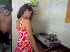 Vīrs licking sieva