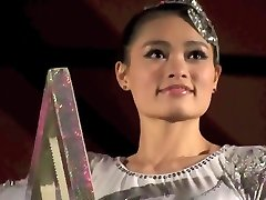 GORGEOUS Chinese Woman PERFORMING DEATH DEFYING STUNT