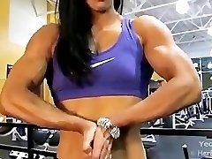 Asiática Sexo Feminino Fisiculturista Musculoso Fora