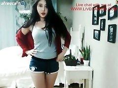 Roztomilý a Sexy kórejská Dievča