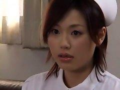Crazy Asian superslut Yui Matsuno in Incredible Medical, Close-up JAV movie