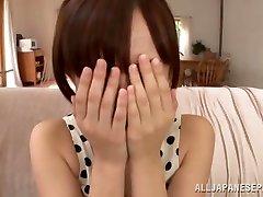 Ayumi Kimino steamy Asian cougar gets pussy banged