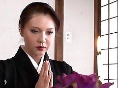 Predivna japanski majka želim трахнуть
