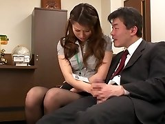 Nao Yoshizaki in Hump Gimp Office Lady part 1.2