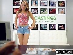 Marina Angel Brutal Castings Thong Gag