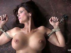 Kinky damsel punishes husband's mistress Syren De Mer