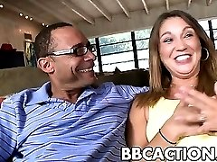 Big ass babe Stacey gets fucked by BBC