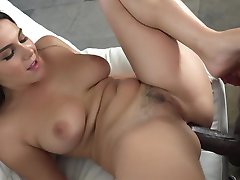 sexy italian takes BBC in the ass