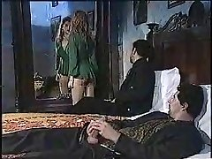 Sexy lady in classic porn movie 1