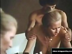 Classic Step-mom and Son Fucking in their Bathroom