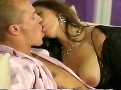 Romantic couple fucking rigid at home