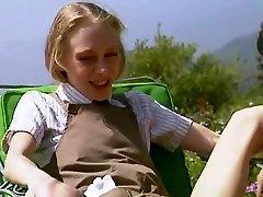 teenagerov Malé Prsia, Tvrdé drobné chudá roztomilý blond