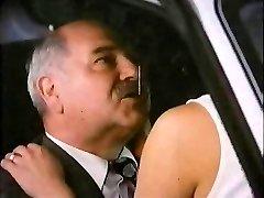 Old Man With Hooker In Van