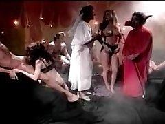 neznámý porno hvězda v nařasené ponožky a podpatky