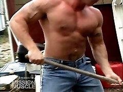 Land Scaper Muscle hunk
