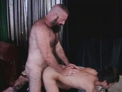 Big daddy fucks boy