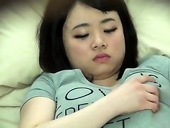Chubby chinese snooped on