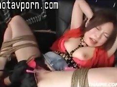 Chinese Parents Make A Teenie Orgasm