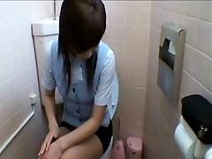 Office Ladies Getting Into Toilet Masturbation