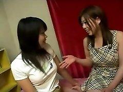Japanse lesbische meisjes