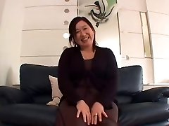Japanese Plumper Granny Internal Cumshot sanae arai 52years