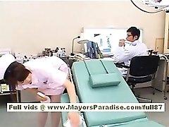 Akiho Yoshizawa Sexy Asian sykepleier har erting legen