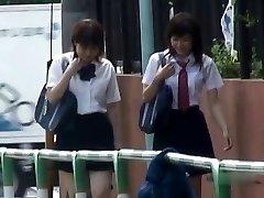 Japāņu Biksītes uz Leju Sharking - Skolēni, Pt 2 CM
